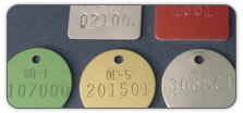 Tags, Valve Tags, Blank Tags, Laser Etched Tags, Embossed Tags, Aluminum Foil Write-On Tags