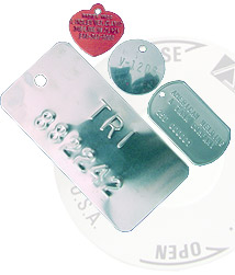 Tags, Nameplates, Tag Clips/Tag Fasteners, Labels, Decals, Metal Stamping, Membrane Switches